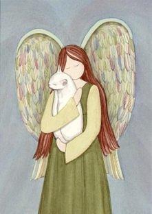 anioły też kochają koty <3