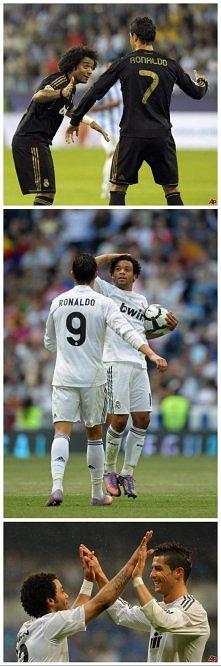 Marcelo z Cristiano pewnie ...