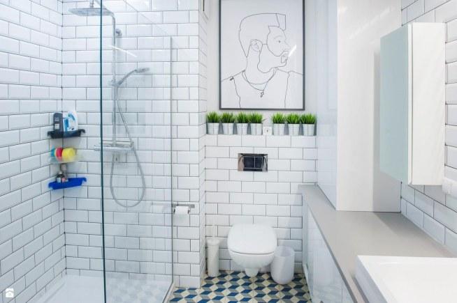 łazienka Styl Eklektyczny Eg Projekt Na łazienka