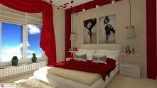 romantyczny wystrój sypialni