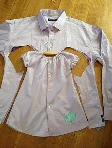 Sukienka z koszuli - Życie Rzeczy Źródło: zycierzeczy. pl