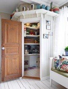 jak zrobić spiżarkę w kuchni?