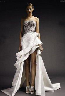 Suknia z Atelier Versace <3 Więcej sukien Versace na moim profilu