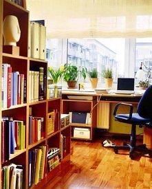Ciepły przytulny gabinet z dużym oknem na całą ścianę :) Więcej na moim profilu