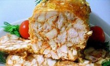 "Rolada z kurczaka ""Marmur"" ..."