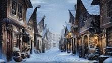 zima w Hogsmeade <3