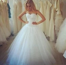Cuuuuuudo... Chcę taką na ślub <3