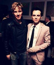 Benedict Cumberbatch i Andrew Scott ♥