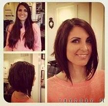 niektórym dziewczynom jest ładniej w krótkich włosach