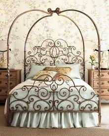 Łóżko w stylu rokoko :)