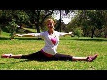 Jak zrobić szpagat ★ Pomocny Stretching - ćwiczenia fitness rozciągające (na ...