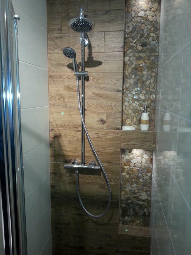 Część Dalsza łazienki Prysznic W Zabudowie Autor Leroy