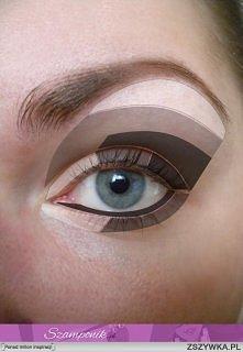 jak malować cienie na oczach