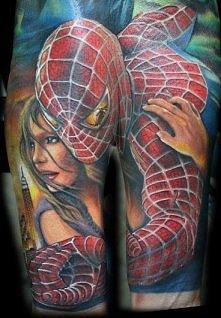 człowiek pająk