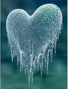 najpiękniejsze zimowe serce :D