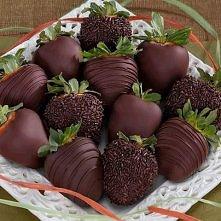 Truskawki w czekoladzie ♥