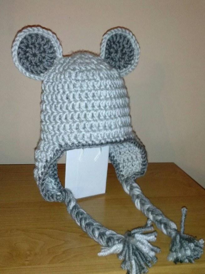 bb936b1bb72a09 czapeczka myszka-zobacz więcej na fb Lekko Ażurowa na C-NAKRYCIA ...