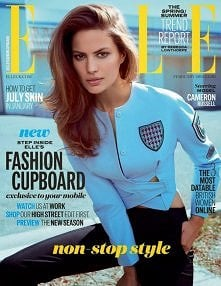 Cameron Russell in Elle UK ...