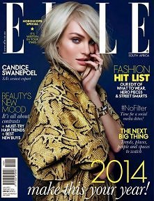 Candice Swanepoel in Elle S...