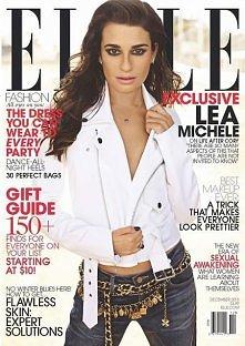Lea Michele in Elle US Dece...