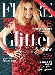 Kristen Bell in Flare Decem...