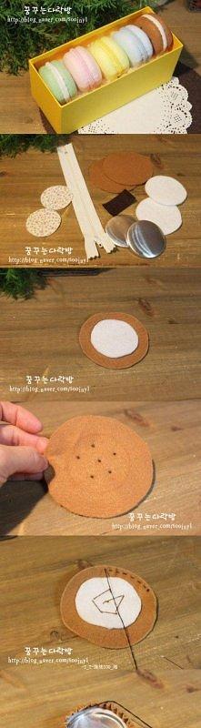 Jak uszyć breloczek-makaron...