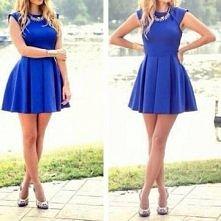piekny kolor , jak i piekna sukienka :D nosiłabym *-*