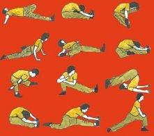 Ćwiczenia rozciągające do szpagatu