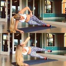 dobre ćwiczenia an brzuch i boczki.