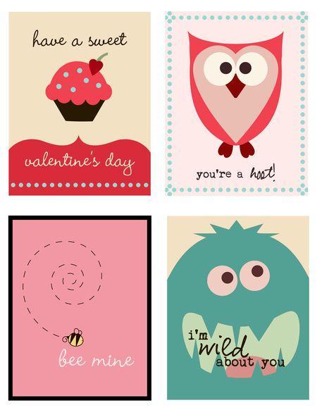 kartki do wydruku na Walentynki