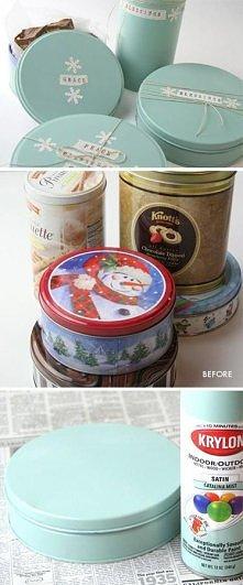 Pudełka na świąteczne drobiazgi