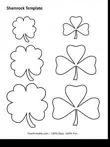 szablon kwiat, kwiatek z fi...