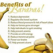 benefits of bananas!