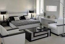 Piękna sypialnia.