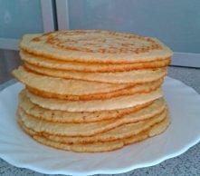 Naleśniki amerykańskie  Składniki 1,5 szklanki mąki pszennej proszek do pieczenia 3,5 łyżeczki łyżeczka soli łyżka cukru 1,25 szklanki mleka jajko 3 łyżki masła  Roztapiamy mas...