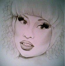Nicki Minaj <3 Chcę tak rysować!