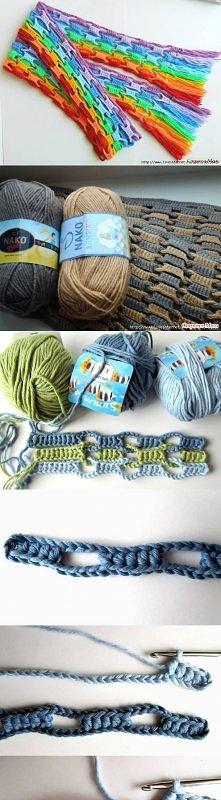 coupling scarf, tutorial, handmade