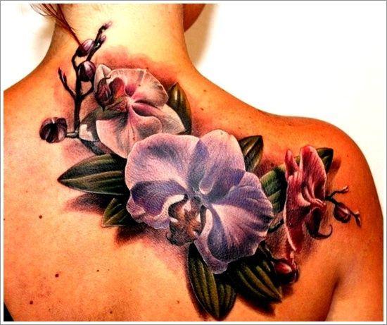 Tatuaż Kwiaty Na Wzory Tatuaży Zszywkapl