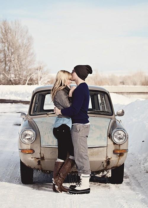 zimowe randki