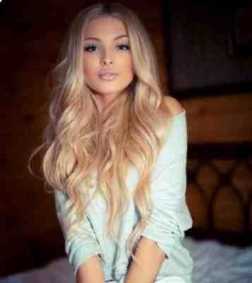 Piękne Długie Blond Włosy Na Fryzury Zszywkapl
