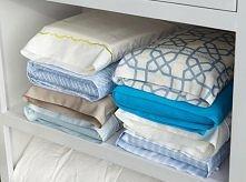 komplet pościeli trzymaj w poszwie poduszki - bedzie porządek