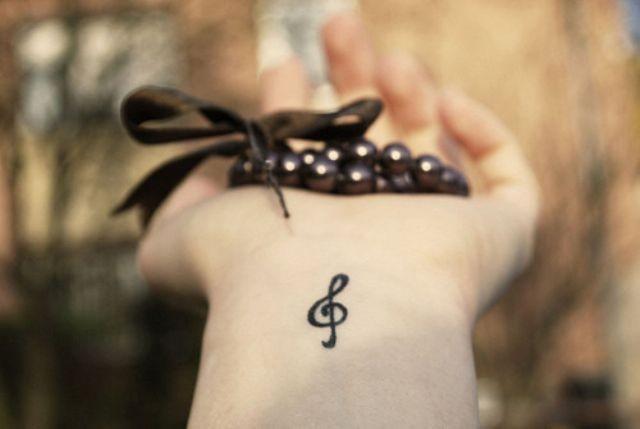 Klucz Wiolinowy Na Tatuaże Zszywkapl