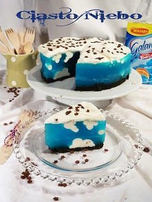 Ciasto Niebo składniki na s...