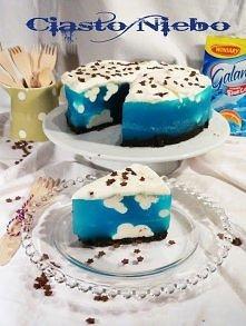 Ciasto Niebo składniki na spód  12 ciasteczek oreo 20 g masła  Ciasteczka bez...