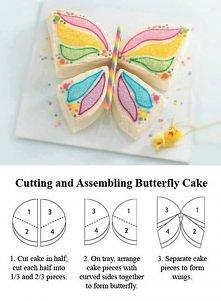 jak łatwo zrobic ciasteczkowego motylka