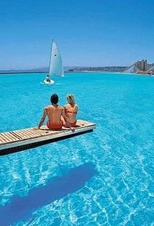Largest Swimming Pool in th...