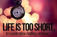 ` Życie jest zbyt krótkie, ...