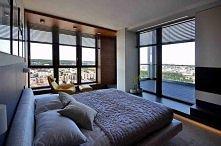 kto by nie chciał takiej sypialni.. :)