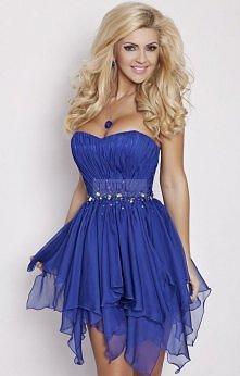 Mam do sprzedania taką o to sukienkę,założoną tylko raz (na wesele brata)w rozmierzę S - Biust 82-86cm, Talia 64-68cm, Biodra 82-96cm, dł.od pachy 58cm  Dekolt serduszko zdobion...