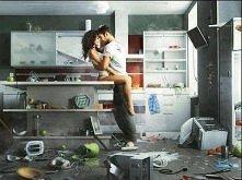 W kuchni...